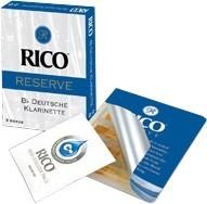 Rico Reserve Reeds 3,5 Deutsch Bb- Klarinette Packung mit 5 Stück - ABVERKAUF