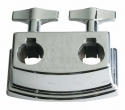 Stagg DTH-25BB Bassdrum Halterungsklammer für 2 Tom Armhalter - Basic 25 Serie