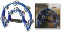 Stagg TAB-1 BL Kunststoff Schellenring mit Cutaway u. 20 Schellen