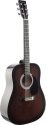 Stagg SW201BKS Akustische Dreadnought Gitarre