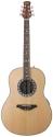 Stagg A1006LH-N Elektroakustische Deep Bowl-Gitarre für Linkshänder