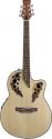 Stagg A2006-N Elektroakustische Shallow Bowl-Gitarre mit Cutaway