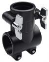 Stagg ACL-T T-Form Fußklammer für 1 1/2 Rohr Rack-System