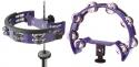 Stagg TAB-D PP Kunststoff Schellenring mit Cutaway in Halbmond-Form für Hi-hat Ständer
