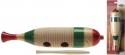 Stagg GUF-141S Kleiner Guiro Holz in Fischform mit Schraper