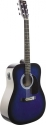 Stagg SW201BLS-VT Elektroakustische Dreadnought Gitarre