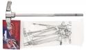 Stagg 2C-HP Flügelstimmschraube für Bassdrum 10 Stück  7/32 US x 115mm