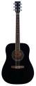 Stagg SW205BK Akustische Dreadnought Gitarre
