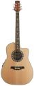 Stagg A4006-N Elektroakustische Shallow Bowl-Gitarre mit Cutaway + 4-Band EQ