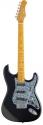Stagg S350-MBK Vintage-Stil ,S, Serie E-Gitarre