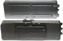 Stagg KTC-140 Leichter Keyboardkoffer 10mm mit Rollen und Griff (137 x 32 x 12 cm)