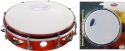Stagg TAB-108P/RD 8 Zoll stimmbares Kunststoff Tambourin