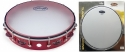 Stagg TAB-112P/RD 12 Zoll stimmbares Kunststoff Tambourin