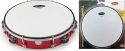Stagg TAB-210P/RD 10 Zoll stimmbares Kunststoff Tambourin