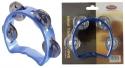 Stagg TAB-MINI/BL Kunststoff Mini-Schellenring mit Cutaway u. 4 Schellen