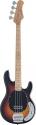 Stagg MB300-SB 4-saitige Vintage-Stil B Serie E-Bassgitarre