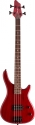 Stagg BC302-TR 4-saitige ,Fusion-Humbucker, E-Bassgitarre