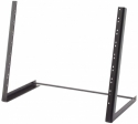 Stagg MRS-A8U abgeschrägtes 19 Zoll /8 HE Rack Desktop-Stativ für Audio-Equipment
