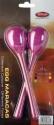 Stagg EGG-MA L/PP Maracas Paar Kunststoff eiförmig mit langem Griff violett
