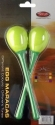 Stagg EGG-MA L/GR Maracas Paar Kunststoff eiförmig mit langem Griff grün