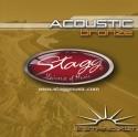 Stagg Gitarrensaiten für 4/4 Akustikgitarre Phosphor Bronze