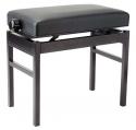 Stagg PB43-MET S/BK Klavierbank aus Metall für Keyboard oder Digitalpiano