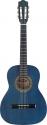 Stagg C530 BL 3/4 Klassik-Gitarre in blau mit Lindendecke