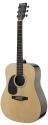Stagg SW203LH-N Akustische Dreadnought Gitarre 4/4, für Linkshänder