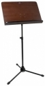 Stagg MUS-A7 BK Orchesterpult Holzauflage mit Metallgestell schwarz