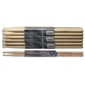 Stagg SH7A American Hickory Drumsticks Holz Tip / 7A / Preis für 1 Paar