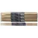 Stagg SHELJ American Hickory Drumsticks Holz Tip / Electric Jazz Sticks / Preis für 1 Paar ABVERKAUF