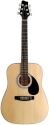 Stagg SW201 3/4 N Akustische Dreadnought Gitarre