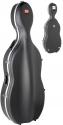Stagg 1/4 - 1/2 ABS- Cellokoffer mit Rollen schwarz