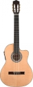 Stagg C546TCE-N Elektroakustik Klassik-Gitarre cutaway mit 4-Band EQ