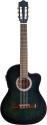 Stagg C546TCE-BLS Elektroakustik Klassik-Gitarre cutaway mit 4-Band EQ