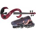 Stagg EVN 4/4 MRD 4/4 Silent Violinen Set