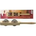 Stagg JSK-4/WD Holz Jingle Stick mit 4 Schellen
