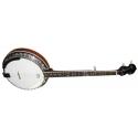 Stagg BJM30 DL 5-saitiges Bluegrass Deluxe Banjo mit Metall-Kessel