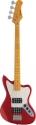 Stagg BM370-MRD 4-saitige, Vintage-Stil ,M, Serie, E-Bassgitarre