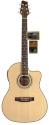 Stagg SF209CE-NS Elektroakustische Cutaway Folk-Gitarre mit 4-Band EQ