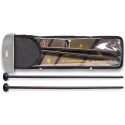 Stagg SMX-WR1 Ahorn Xylofonschlegel mit schwarzem Nylonkopf - Soft