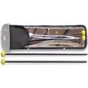 Stagg SMX-WN1 Ahorn Xylofonschlegel mit gelben Nylonkopf - Medium