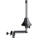 Stagg WIS-A15E BK robuster Halterungsarm aus Stahl für Trompete