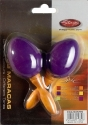Stagg EGG-MA S/MG Maracas Paar Kunststoff eiförmig magenta