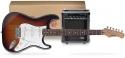Funtime E-Gitarre + Verstärker Pack, Farbe: sunburst