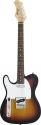 Stagg T320LH-SB Standard T E-Gitarre  Linkshänder Modell Sunburst
