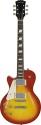 Stagg L320LH-CS - Translucent Rock ,L, E-Gitarre - Linkshänder Modell, Cherryburst