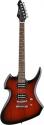 Stagg H400-RDS Heavy H E-Gitarre in redburst