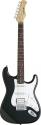 Stagg S402-BK Standard ,Fat S, E-Gitarre