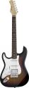 Stagg S402LH-SB Standard ,Fat S, E-Gitarre, Linkshänder Modell, Sunburst
